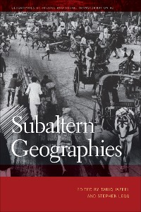 Cover Subaltern Geographies