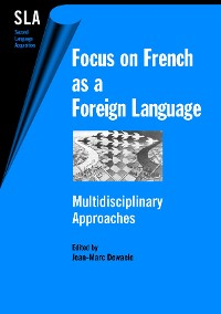 Cover Focus on French as a Foreign Language