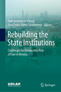 Cover Rebuilding the State Institutions