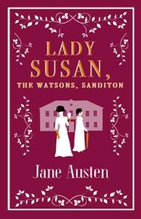 Cover Lady Susan, The Watsons, Sanditon