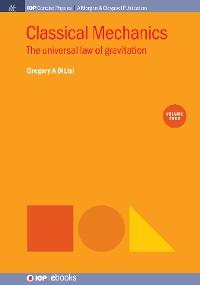 Cover Classical Mechanics, Volume 4