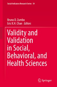 Cover Validity and Validation in Social, Behavioral, and Health Sciences