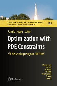 Cover Optimization with PDE Constraints