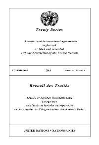 Cover Treaty Series 3002/Recueil des Traités 3002