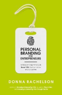 Cover Personal Branding for Entrepreneurs