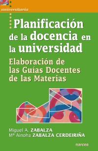 Cover Planificación de la docencia en la universidad