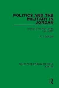 Cover Politics and the Military in Jordan