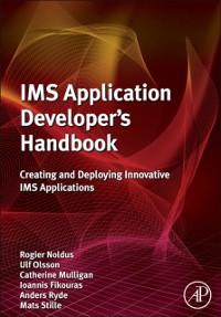 Cover IMS Application Developer's Handbook