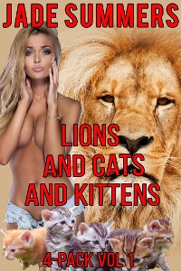 Cover Lions and Cats and Kittens 4-Pack Vol 1