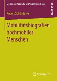 Cover Mobilitätsbiografien hochmobiler Menschen