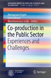 Cover Co-production in the Public Sector