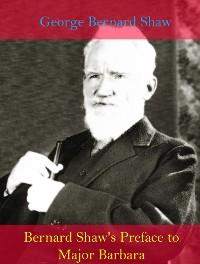 Cover Bernard Shaw's Preface to Major Barbara