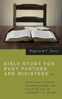 Cover Bible Study for Busy Pastors and Ministers, Volume 2