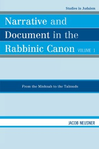 Cover Narrative and Document in the Rabbinic Canon