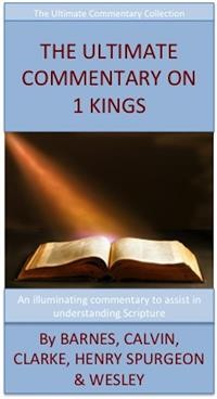 Cover The Ultimate Commentary On 1 Kings