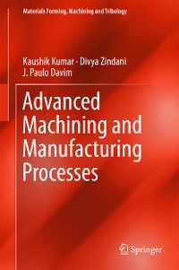 Cover Advanced Machining and Manufacturing Processes