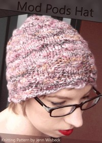 Cover Mod Pods Hat Knitting Pattern