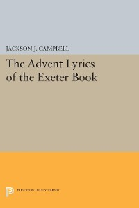 Cover Advent Lyrics of the Exeter Book