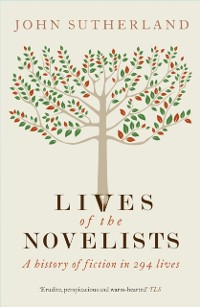 Cover Lives of the Novelists