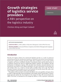 Cover Case Study: Growth Strategies of Logistics Service Providers