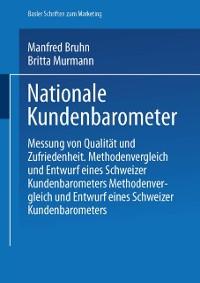 Cover Nationale Kundenbarometer