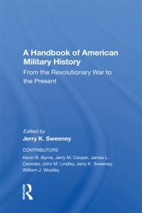 Cover Handbook Of American Military History