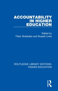 Cover Accountability in Higher Education
