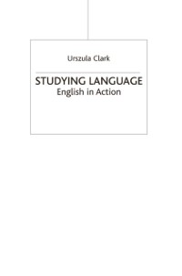 Cover Studying Language