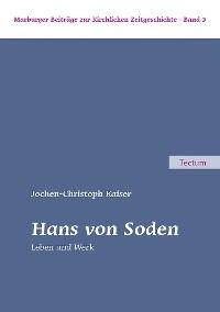 Cover Hans von Soden
