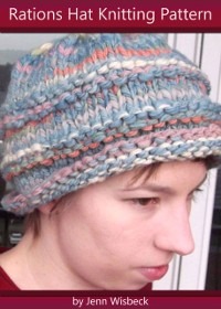 Cover Rations Hat Bulky Knitting Pattern