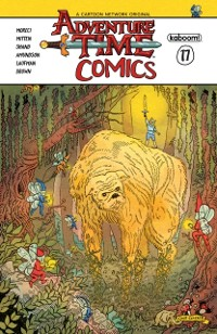 Cover Adventure Time Comics #17