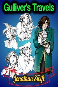 Cover Gulliver's Travels - Jonathan Swift