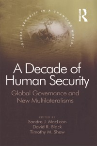 Cover Decade of Human Security