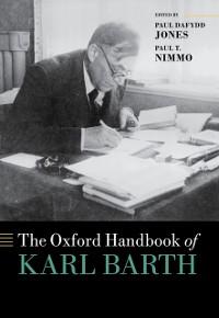 Cover Oxford Handbook of Karl Barth