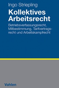 Cover Kollektives Arbeitsrecht