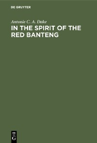 Cover In the spirit of the Red Banteng