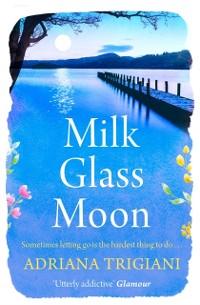 Cover Milk Glass Moon