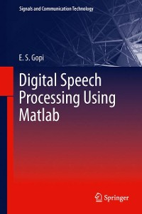 Cover Digital Speech Processing Using Matlab