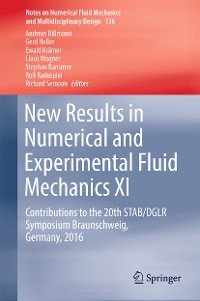 Cover New Results in Numerical and Experimental Fluid Mechanics XI