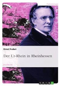 Cover Der Ur-Rhein in Rheinhessen