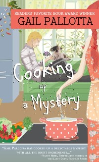 Cover Cooking up a Mystery