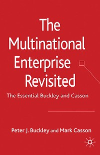 Cover The Multinational Enterprise Revisited