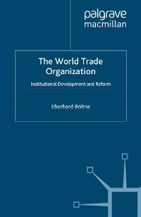 Cover The World Trade Organization