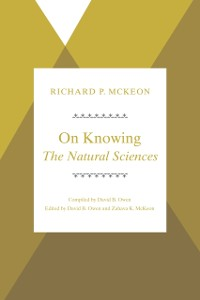 Cover On Knowing--The Natural Sciences