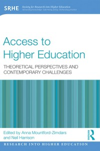 Cover Access to Higher Education