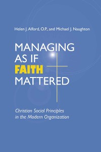 Cover Managing As If Faith Mattered