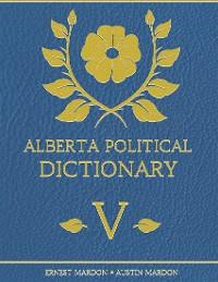 Cover Alberta Political Dictionary V