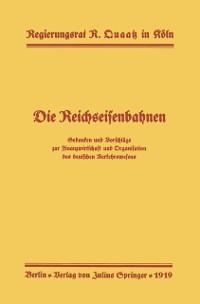 Cover Die Reichseisenbahnen
