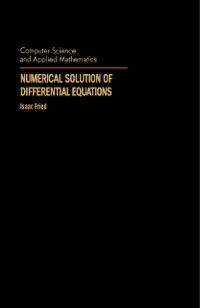 Cover Numerical Solution of Differential Equations