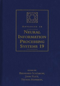 Cover Advances in Neural Information Processing Systems 19
